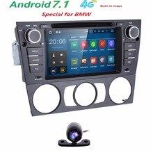 Capacitive 7″Touch Screen car gps navigation for bmw e90 E91 E92 GPS 4G wifi Bluetooth Radio USB SD Steeringwheel FreeCar camera