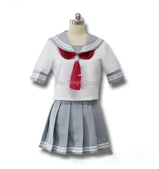 Sol Trajes de Cosplay de Anime Love Live Takami Chika Love Live Niñas Uniformes Escolares Falda Fiesta de Halloween Anime Japonés Lindo