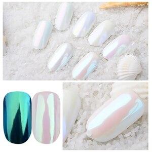 Image 3 - 1Box Gradient Shining Nail Glitter Dust Magic Mirror Effect Powder Aurora Nail Art Pigment DIY Decoration Dust Tools BEB01 07