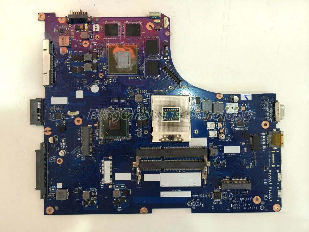 laptop Motherboard/mainboard for Lenovo y500 QIQY6 NM-A142 DDR2 with 750M N14P-GT1A2 graphics card 100% tested Fully