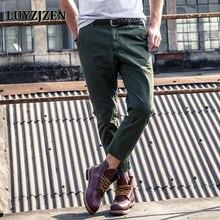Pantalones de estilo nuevo Hombres Pantalones largos rectos Pantalones de moda
