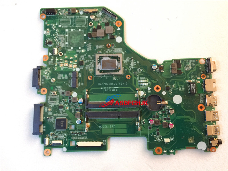 Original DA0ZRZMB6D0 for font b Acer b font Aspire E5 522 laptop Motherboard with A10 8700P