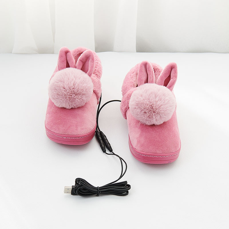 69b1a9bac7ae 2018 Limited New Arrival Heated Shoes Usb Heating Warm Feet Shoe Foot  Warmer Electric Slippers Pad Pads-in Electric Heating Pads from Home    Garden on ...