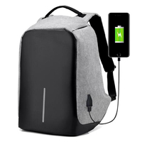 Senkey Style Men Backpack Anti Theft Multifunctional Oxford Casual Laptop Backpack Fashion Waterproof Travel Bag Computer