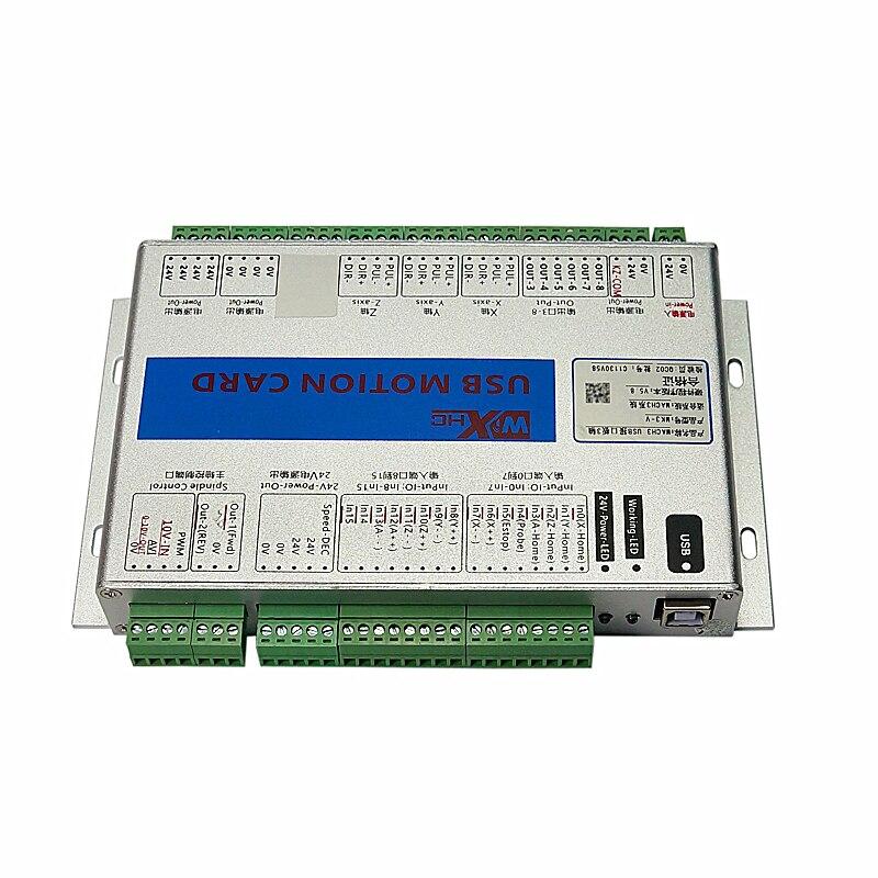 USB Port 2MHz Mach3 CNC Motion Control Card Engraving Machine Breakout Board Wood Router MK3 MK4
