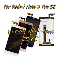 152mm 5.5'' New For Xiaomi Redmi Note 3 Pro SE Global Full LCD DIsplay + Touch Screen Digitizer Assembly Black / White / Gold