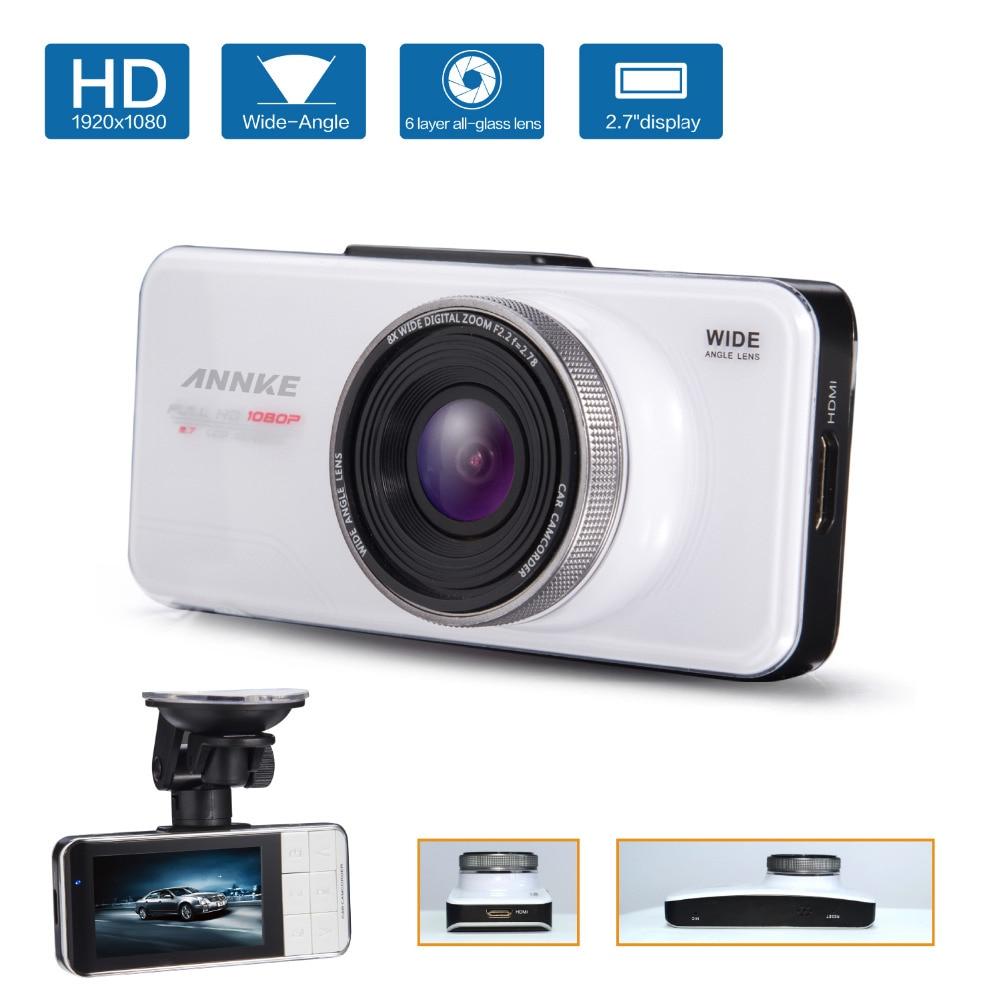 Annke Novatek 96650 Car DVR Full HD 1080P/148 Wide Angle Vehicle Car Camera+G-Sensor/WDR/Night Vision Function r Big Discount