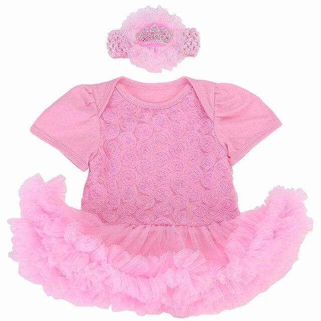 a88e7b5350d37 1er Anniversaire De Princesse Boule Robe De Mariage Bébé Fille Robe  En Bas  Âge Filles