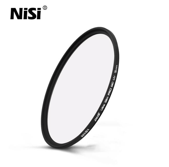 Nisi 58mm MC UV DUS Ultra Slim Professional MC UV Filter for Panasonic 12 35 14