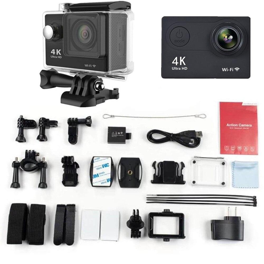 Оригинальная Экшн-камера eken H9R/H9 Ultra HD 4K WiFi дистанционное управление спортивная видеокамера DVR DV go Водонепроницаемая профессиональная камер...