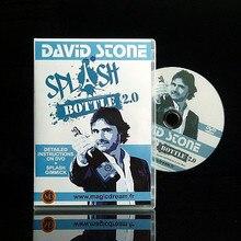 Splash Bottle 2.0 (DVD + Gimmick) - Magic Tricks,Stage, Props,Illusion,Classic Toys,Funny