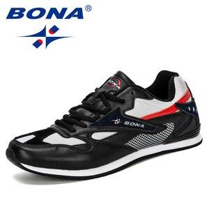 Image 3 - BONA Zapatillas de deporte ligeras y transpirables para Hombre, calzado informal de ocio, para exteriores, 2019