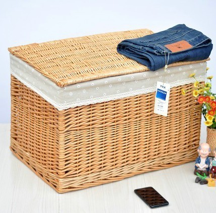Extra large non rattan storage box storage box laundry baskets
