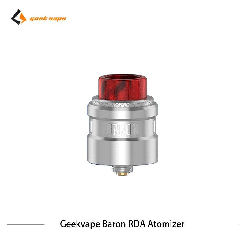 2 pcs/lot Geekvape Baron RDA système de flux d'air 24mm atomiseur RDA Squonker RDA 510 vs drop dead RDA réservoir de Vape de Cigarette électronique - 4