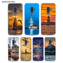 Transparent Soft Silicone Phone Case istanbul world For Samsung Galaxy S9 S8 Plus S7 S6 S5 Edge Note 9 8