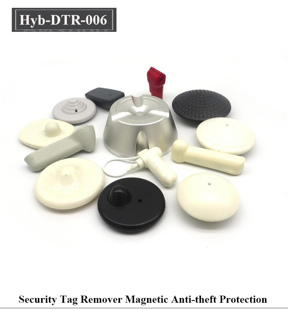 HYBON 15000gs Detacher Golf EAS Tag Remover Security Magnetic Detacher  Clothing Tag Remover Llavero Cuerda