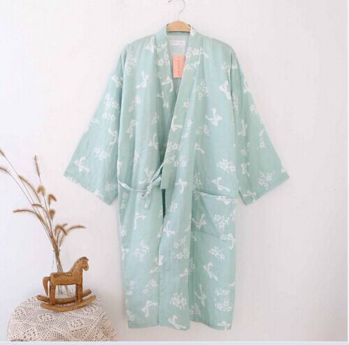 Cotton-Bathrobes-Summer-Cotton-Robes-for-Women-Cotton-Kimono-Robes-Floral-Spa-Robe-Women-Pajamas-Japanese