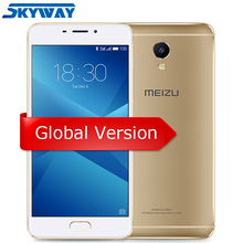 Orijinal Meizu M5 Not 3 GB RAM 16 GB ROM 4G LTE Helio P10 Octa Çekirdek cep telefonu 5.5