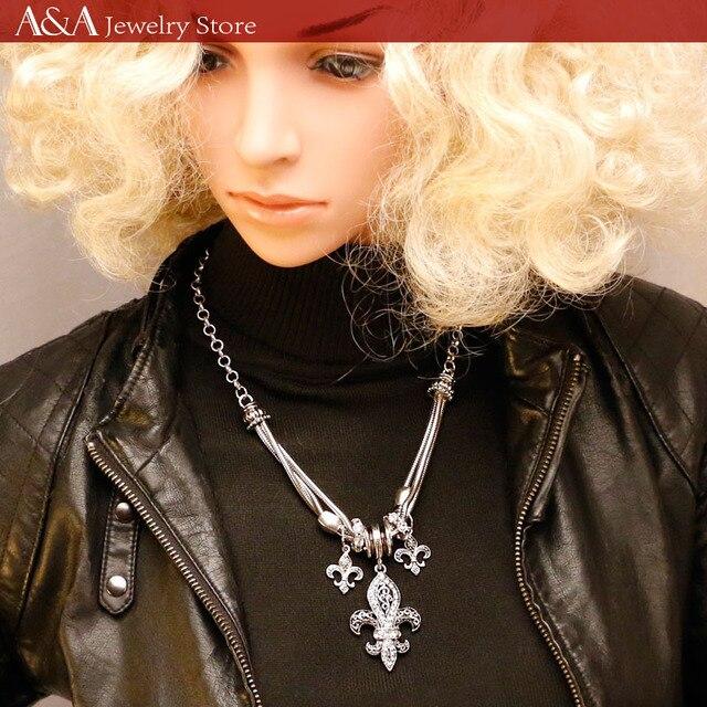 Brightly Ancla de las ventas calientes Collares de los colgantes de la forma para las mujeres Collares del collar de la declaración Collares de Hiphop