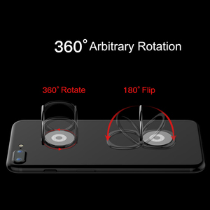 Image 5 - Moblie Phone Ring Holder For iPhone Xs Max X Samsung S10 Phone Grip Finger Ring Holder Support Magnetic Car Mobile Cell Holder