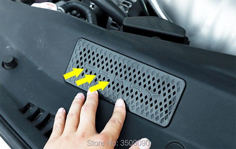 Стайлинга автомобилей двигателя впуска воздуха Vent Защитная крышка Стикеры защиты 1 шт./компл. для Toyota Camry 2017 2018