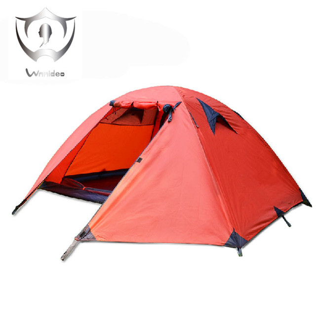 Wnndieo 2 Person Double Layer C&ing Tent - Waterproof Lightweight Backpacking Tent for C&ing with Carry  sc 1 st  AliExpress.com & Wnndieo 2 Person Double Layer Camping Tent Waterproof Lightweight ...