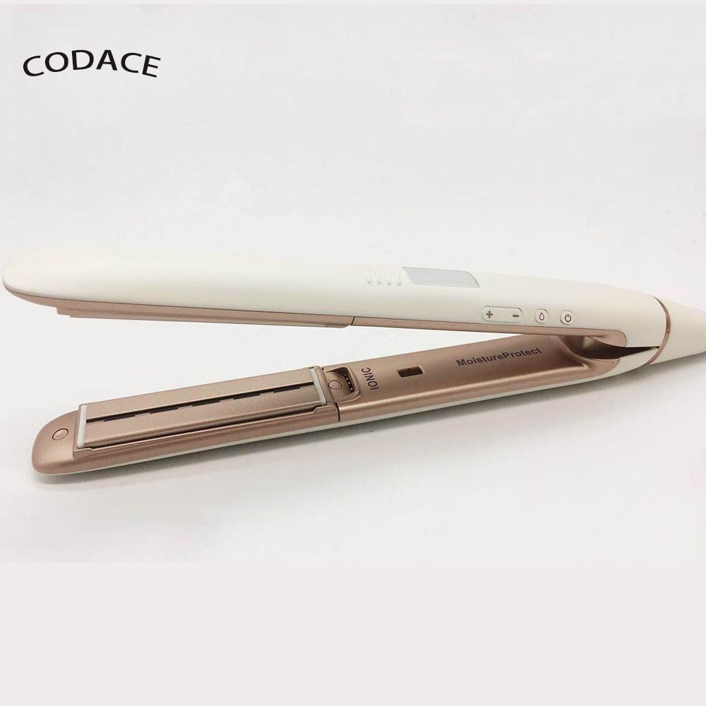 2018 New Professional Infrared Straight Iron Intelligent Temperature Control Negative Ceramic hair straightener 20s Fast Heat Up remington s1005 e51 ceramic straight 230