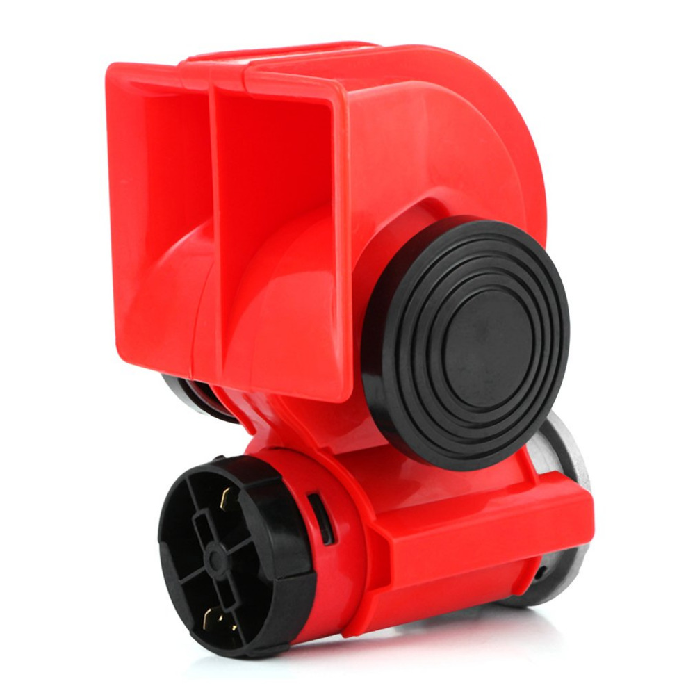 Back To Search Resultsautomobiles & Motorcycles Multi-tone & Claxon Horns 12v/24v Universal Snail Air Horn High Power Loud Car Electric Siren For Cars Truck Motorbike Vehicle Motorcycle Accessories