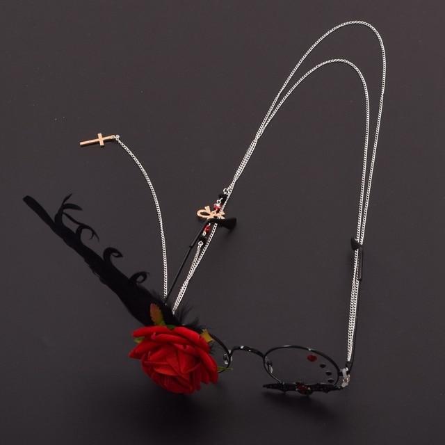 Фэнтези очки с розой 2