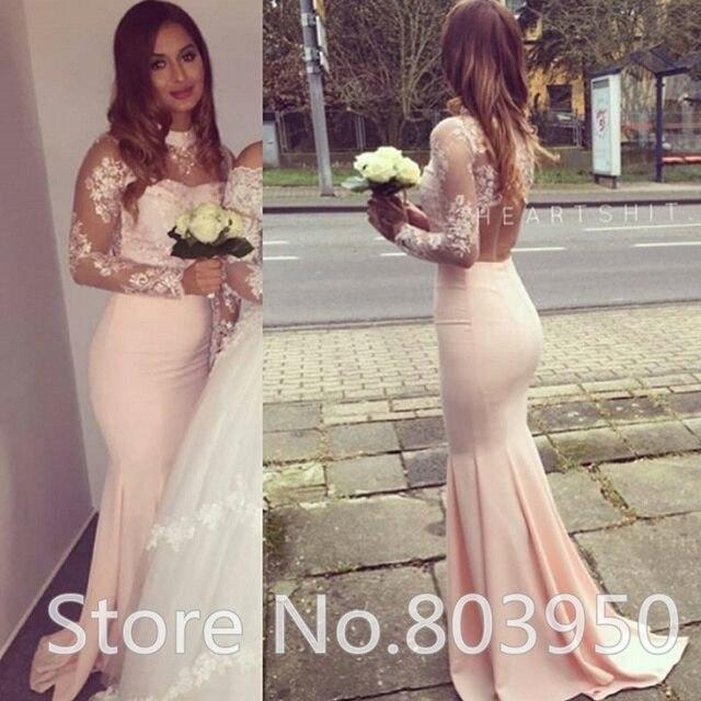 Aliexpress.com : Buy Woman Formal Evening Dress High Neck Open Back ...