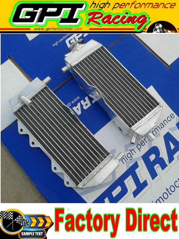 Blue Hose for Yamaha YZ125 YZ 125 2005-2014 06 07 08 09 10 Aluminum radiator