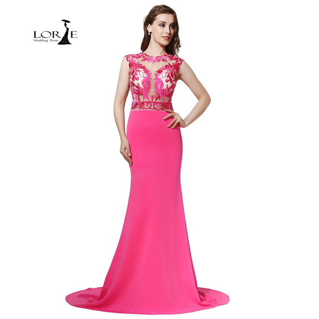 Pink Satin Dress Embroidery Gala Gowns Vestidos Largos Elegantes ...