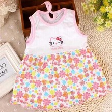 10 Pcs/lot Branded Baby Dress Baby Girls Dress,super Soft 100% Cotton