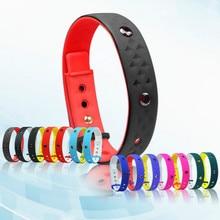 Smart Wristband Smart Germanium Stone Silicon Bracelet USB Charging Line Data Transmission Health Wristband with NFC