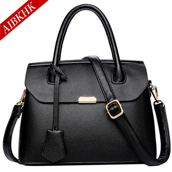 Genuine Leather Handbags Luxury Designer Shoulder Crossbody Bags for Women 2018 Fashion Totes Female Famous Brand Lady Hand Bag