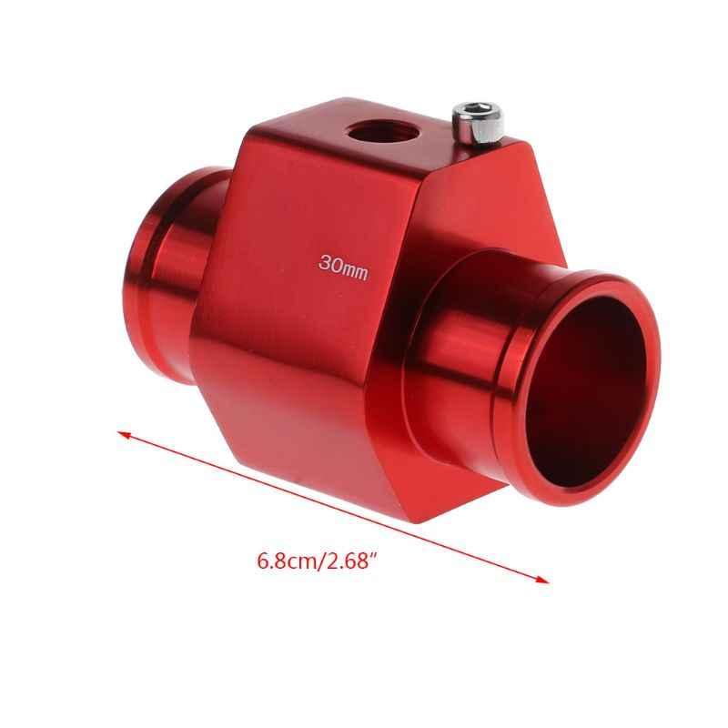 1 zestaw 26mm-40mm pojazd samochodowy termometr do wody czujnik temperatury czujnik złącza rurowego wąż chłodnicy Adapter akcesoria samochodowe