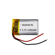 цена на 4pcs/lot 3.7V 302030 Lithium Polymer Battery Rechargeable Batteries For MP3 Bluetooth Electronics Products