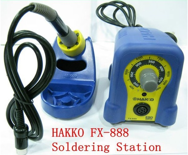 220V HAKKO Fx-888 Solder Station Electric Soldering Iron with 12 Free tips 900M-T dhl free shipping hot sale 220v hakko fx 888 fx888 888 solder soldering iron station with 10 free tips 900m t