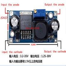 100 unids/lote LM2596S LM2596 LM2596S ADJ módulo de fuente de alimentación DC DC módulo reductor 5 V/12 V/24 V regulador de tensión regulable 3A