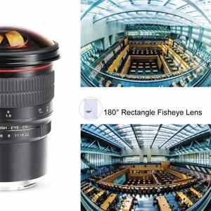 Image 4 - Đế Pin Meike 8 Mm F3.5 Góc Rộng Ống Kính Mắt Cá Camera Ống Kính Cho Máy Nikon D3400 D5500 D5600 D7000 Máy Ảnh DSLR Với APS C/full Frame + Tặng Quà Tặng