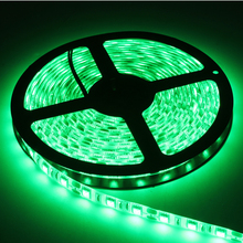 300SMD 5M DC 12V IP68 Soft LED Strips Waterproof Home Decoration White Blue Red Yellow Green Flexible LED Light #KF
