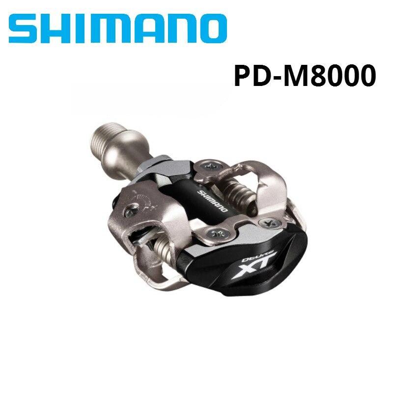 Pas en stock!!! SHIMANO XT PD M8000 pédale de vélo SPD pédales vtt composants utilisant pour les pièces de VTT de course de vélo