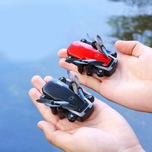 Вертолет 2000000 пикселей селфи Дроны с камерой HD Professional детские игрушки для мальчиков Мини карманный Rc Дрон Складная маленькая игрушка