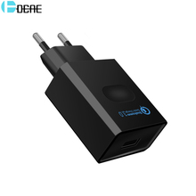 DCAE 18W Phone Charger Quick Charge 3.0 Fast Mobile