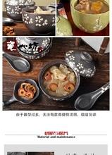 A bowl of soup tureen Japanese /ceramic   tureen  salad bowl / South Korea tableware