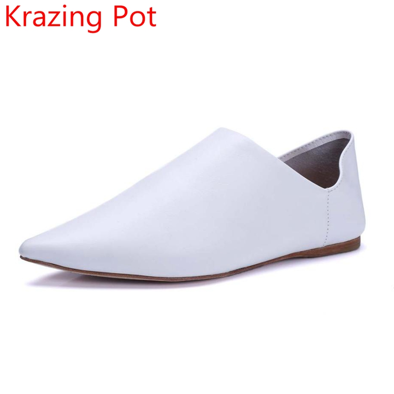 2017 New Fashion Brand Spring Pointed Toe Black Contracted Thick Heel Women Pumps Sweet Slingback Lazy Sexy Lady Causal Shoes L new 2017 spring summer women shoes pointed toe high quality brand fashion womens flats ladies plus size 41 sweet flock t179