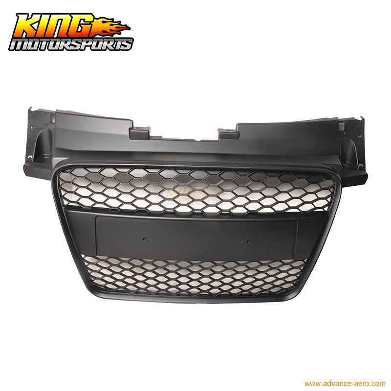For 2006 2010 Audi TT 8J Front Mesh Hood Grille Grill All