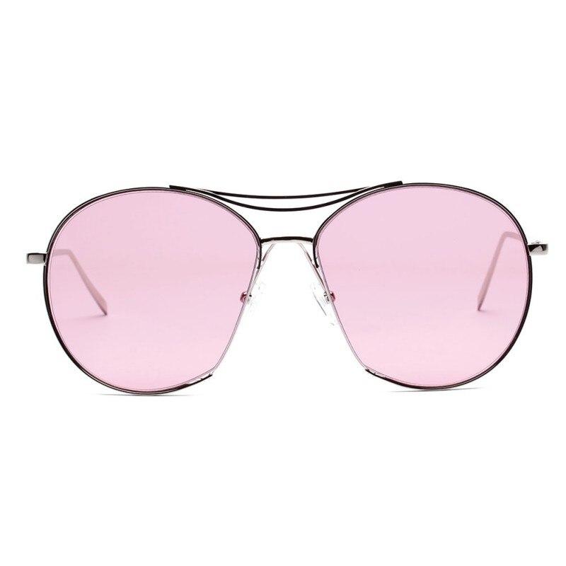 0bd09fbede021 Retro Colorido Lente Dos Óculos De Sol Mulheres Eyewear Oval Oversized Óculos  de Sol Oculos de sol Feminino