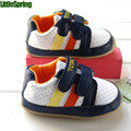 LittleSpring Baby soled footwear shoes Soft bottom shoes for boys fashion first walkers loafers baby shoes