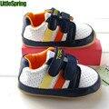 Littlespring младенцы подошве обувь обувь мягкий нижний обувь для мальчики первых пешеходов бездельников младенцы обувь